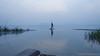 Fishin' In The Dark (sakthi vinodhini) Tags: kolavai lake fishing fishermen india tamil nadu chennai chengalpet south earlymorning early morning sunrise nikon d5100 cwc560 cwc outdoor misty