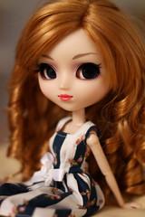 Rose (Blublue) Tags: blublue pullip doll poupe rose groove jun planning princess ann roman holidays audrey hepburn monique golden reddish blond coolcat eyechips wig