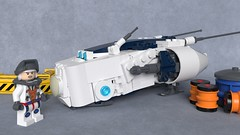 DR-88M Sparrow (Sunder_59) Tags: lego moc mecabricks blender3d render starfighter fighter spaceship spacecraft vehicle military