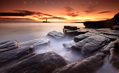 Marys Cauldron of Mist (Stu Patterson) Tags: stu patterson seascape sunrise st marys lighthouse whiley bay