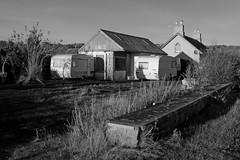 Broom Smithy (Taysider64) Tags: perthshire dalreoch monochrome blackandwhite fillingstation dereliction road