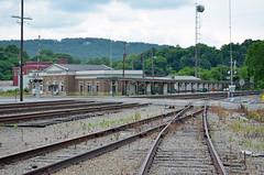 Southern Railway Station, Alabama, Anniston (EC Leatherberry) Tags: railroad alabama southernrailway depot station annistonalabama milorhanker 1925 amtrak calhouncounty classicalrevivalstyle