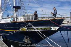 Photographers love tall ships (Cardesson) Tags: hobart tallships waterfront justpentax