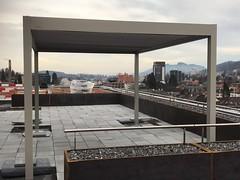 #Pergola #Lamellendach #Outtec #B150 #outdoorliving #sonnenschutz montiert in #sanktgallen (manuel_rolli) Tags: lamellendach sanktgallen outtec sonnenschutz outdoorliving pergola b150
