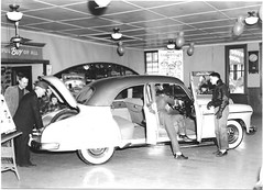 1949 Chevrolet new-car showroom (raycarlos1) Tags: 1949 chevrolet dealer dealership showroom lovington illinois tomwest chevy centralillinois deluxe postwar gm generalmotors
