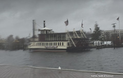Rainy Day Toms River (scottnj) Tags: river tomsriver nj newjersey rain rainy storm rainstorm squall scottnj scottodonnellphotography riverlady theriverlady paddlewheel riverboat boat ship redditphotoproject reddit365 cy365 334366 365project
