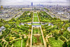 Champ de Mars As Seen From The Eiffel Tower (Steve Mitchell Gallery) Tags: landscape landscapes aerial champdemars travel paris france