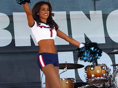 IMG_6882 (grooverman) Tags: houston texans cheerleaders nfl football game nrg stadium texas 2016 budweiser plaza nice sexy legs stomach canon powershot sx530
