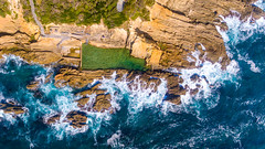 The Blue Pool Bermagui (Andy Hutchinson) Tags: australia bermagui drone aerial bluepool sapphire nsw newsouthwales au