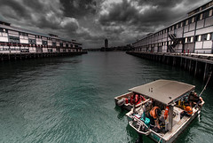 Walsh Bay (Martin Snicer Photography) Tags: walshbay sydney australia pier water travel artisitic composition wideangle 1018 canon photographer boat