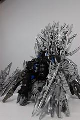 The Blade Throne and Vugantur (Crimson-eyed-sermon) Tags: bionicle bioniclemoc moc lego throne