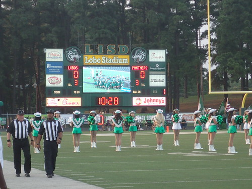 """Longview vs. Lufkin Aug. 28, 2015 • <a style=""""font-size:0.8em;"""" href=""""http://www.flickr.com/photos/134567481@N04/20362493124/"""" target=""""_blank"""">View on Flickr</a>"""