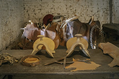 Saddle Making Workshop in Old California (Greatest Paka Photography) Tags: altacalifornia marianovallejo ranchopetaluma petaluma rancho workshop saddle oldwest josefigueroa landgrant presidio sanfrancisco cattle tannery leather oldcalifornia saddlery frontier republicofmexico commandant ranch
