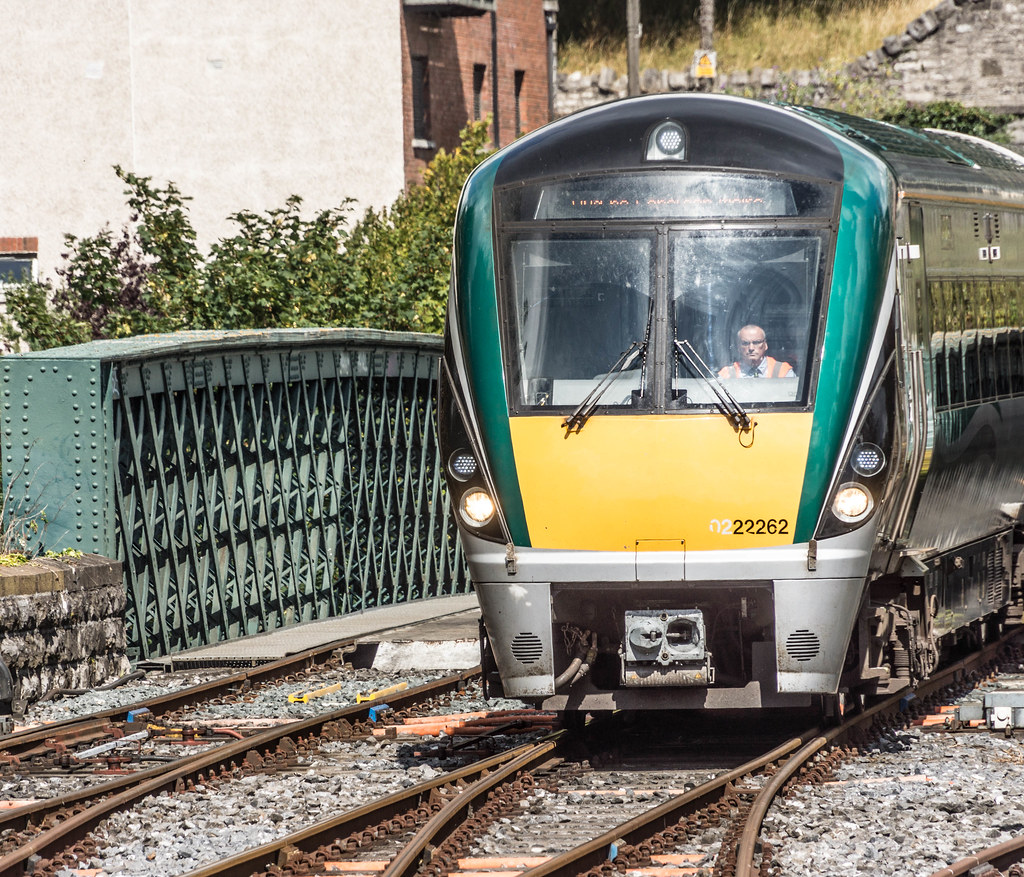 THE MINISTER PLUS PLATFORM 10 AND THE PHOENIX PARK RAILWAY TUNNEL [NOT FORGETTING IRISH RAIL STAFF] REF-107151