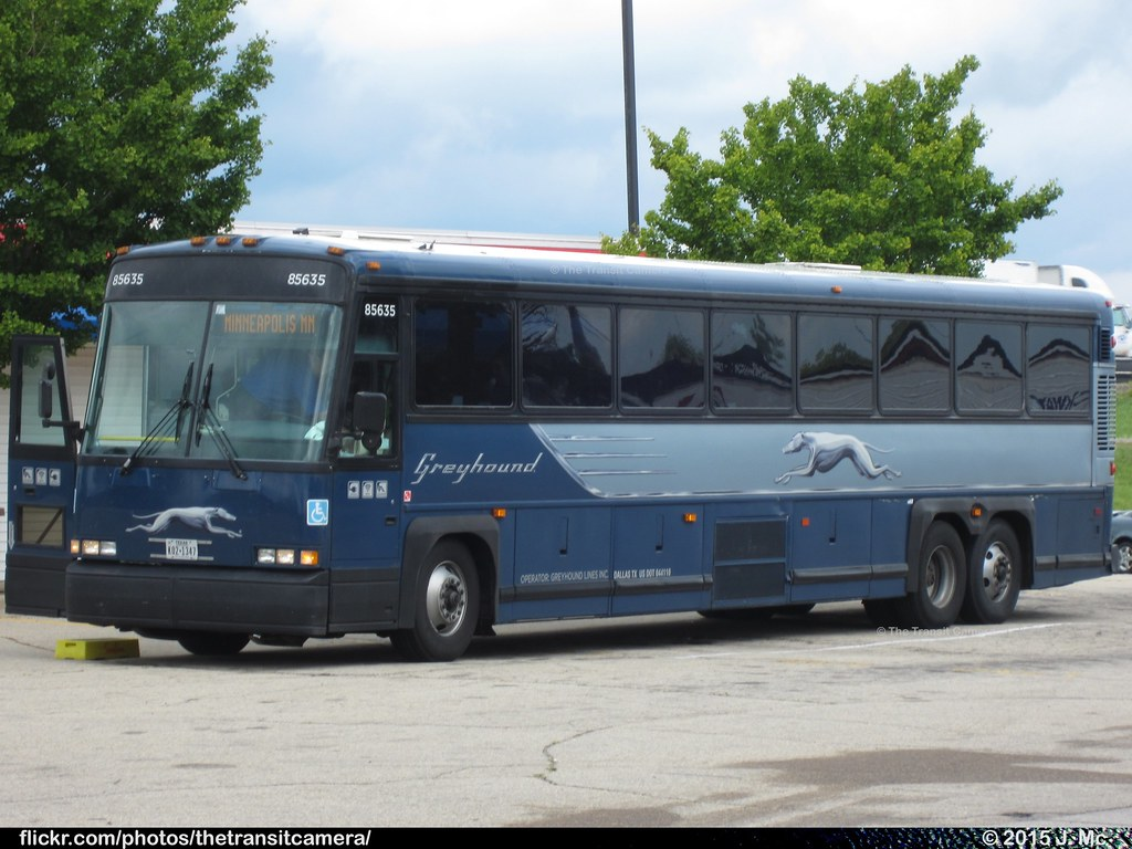 Greyhound bus company