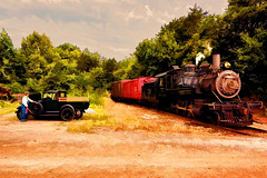 Vintage workhorses (Robert Holler Photography) Tags: railroad favorite painterly robert modela interesting painted processing holler photopainting 3riversrambler robertholler