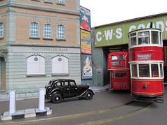 Keep Left (kingsway john) Tags: london scale advertising layout model transport tram 1950s posters oo gauge e1 tramway 1885 wolseley keepleft tramcar 176