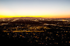 Sunset from Piestewa Peak (raptoralex) Tags: longexposure sunset arizona mountain phoenix night squawpeak piestewapeak valleyofthesun