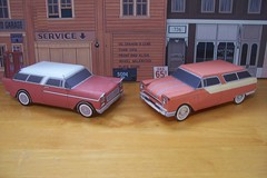 papercraft Chevrolet and Pontiac wagons (official inspection station) Tags: ford chevrolet plymouth pontiac 1956 papercraft 1955chevrolet stationwagons papertoy papercar 1956ford 1956plymouth 1955pontiac plymouth1955chevrolet papercraftstationwagons papercarstationwagons
