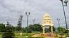 PeeVee Walks 25K KG Towers-1040276 (peevee@ds) Tags: city bangalore boundary peevee kempe gowda kempegowda bengaluru 25kmwalk peeveewalks25k