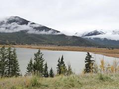 Banff NP (2015-10-03) 40 (MistyTree Adventures) Tags: trees mountain lake canada nature clouds nationalpark outdoor alberta banffnationalpark banffnp