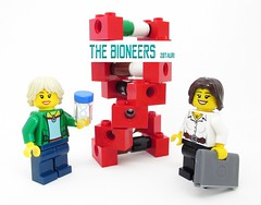 Dr. Dowd and Dr. Crisp - The Bioneers on LEGO Ideas (pixbymaia) Tags: lego dna minifigs doublehelix scientists engineers legopeople minifigures bioengineering legoideas womeninscience legominifigures bioengineers womeninstem jenniferdoudna emmanuellecharpentier