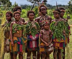 Dancers, Bien Village, Papua New Guinea (bfryxell) Tags: dancers papuanewguinea singsing oceania melanesia sepikriver bienvillage