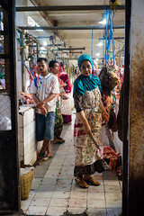 Salatiga Market | After busy hours in Market (Ordinary_Folk) Tags: life red colour indonesia happy humanity market f14 sony voigtlander mc human colourful 40mm dailylife alpha a7 nokton element developingcountry salatiga