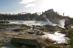 Wo mal der grosse Rheinfall war.... (Stephi 2006) Tags: schaffhausen rheinfall trockenheit