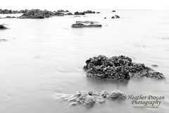 Mindil B&W (stormgirl1960) Tags: ocean blackandwhite bw beach water rocks tide darwin northernterritory mindilbeach