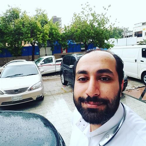 أنا والمطر يا #جده