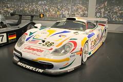20140826 Mulhouse Haut-Rhin - Cit de l'Automobile - Porsche 911 GT1 -(1997)- (anhndee) Tags: france museum frankreich muse musee alsace museo classiccars mulhouse hautrhin voituresanciennes