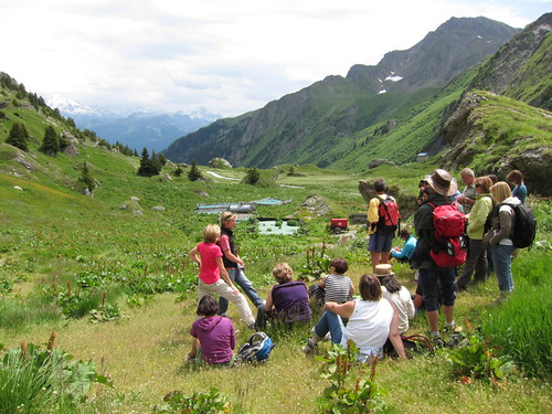 Visite alpages Granier Plan Pichu © M. NGuyen - Fondation Facim, 2011 (91)