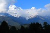 Ghandruk 32 (Mabacam) Tags: nepal homes foothills clouds trekking walking landscape outdoors scenery village hiking annapurna mountainvillage 2015 ghandruk annapurnasouth hiunchuli ghandrung annapurnafoothills