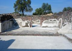Courtyard, Teōtīhuacān,