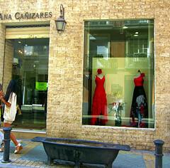 Spanish Spirit (Susannaphotographer) Tags: city summer girl shop spain mediterranean dress citylife espana alicante spanish dresses summertime cultures flamenco spagna summers mediterranee eurpe ¨shopping