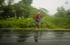 Rainy Day (Sathish_Photography) Tags: rain bicycle photo highway day village ride national rainy journey monsoon cycle area tamilnadu tiruvannamalai colourfull greenary sathishphotography