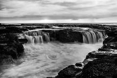 Newcastle Ocean Baths (Leighton Wallis) Tags: rock sunrise newcastle dawn waterfall sony platform wave australia nsw newsouthwales alpha f40 1635mm mirrorless a7r emount ilce7r