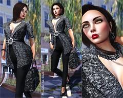 Belle Outfit (shelenamauer) Tags: maitreya slink catwa hillyhaalan lumae catwahead