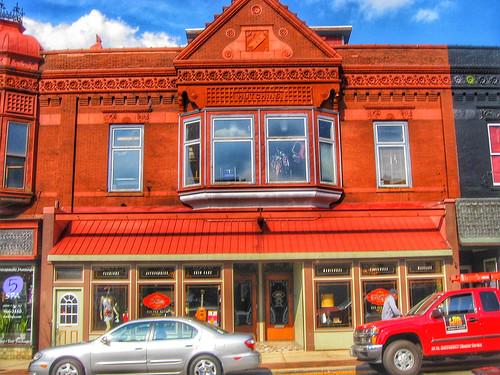Rockford Illinois ~ Hutchins Block ~ East Rockford Historic District
