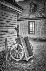 "Yardwork - ""the Colonial Way"" (ggavin5000) Tags: colonial williamsburg"