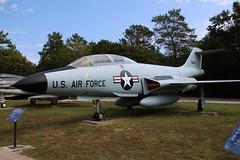 McDonnell Douglas F-101B Voodoo USAF 56-0250 (NTG842) Tags: museum douglas usaf voodoo mcdonnell eglin armament f101b 560250 afbusaf