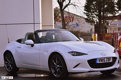 Mazda MX5 SKYACTIV Hamilton 2015 (seifracing) Tags: white cars car scotland europe glasgow hamilton scottish voiture vehicles emergency mazda spotting services strathclyde mx5 ecosse 2015 seifracing skyactiv