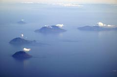 Aeolian Islands (albireo 2006) Tags: sea islands mediterranean aerialview geography geology salina lipari aeolianislands tyrrheniansea volcanos panarea filicudi tyrrhenian isoleeolie tirreno alicudi martirreno