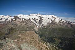 Massiccio del Monte Rosa (dafnemunaretto) Tags: monterosa mountain montagne massif testagrigia gressoney champoluc alpi alps trekking alpinism alpinismo