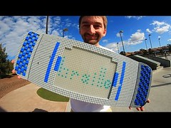 A NEW LEGO SKATEBOARD! | YOU MAKE IT WE SKATE IT EP 50 (Download Youtube Videos Online) Tags: a new lego skateboard | you make it we skate ep 50