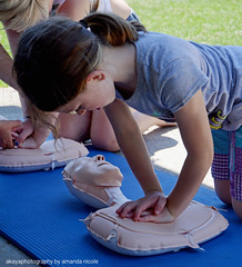 CPR training 3 (livewellnky) Tags: kids children child girl health training cpr community event livewell kentucky nky