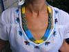 Колье-гердан желто-голубое (Seed Bead Necklace) Tags: necklace jewelryonetsy jewelry holidayjewelry handmadejewelry ukrainianjewelry etsy etsymntt etsyshop beadednecklace yellowblue ukrainian ukrainiannecklace