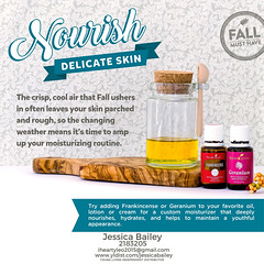 13-Skin Care Moisturize (Jessica Bailey YLEO) Tags: yleo essential oils young living autumn fall recipes wellness oil oily mom body system support