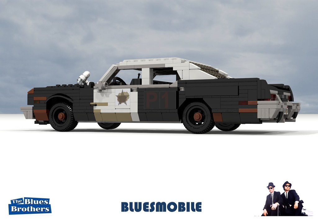 The bluesmobile 1974 dodge monaco cop car the blues brothers